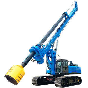 Cheap 60m Depth Kelly Bar Rotary Drilling Rig