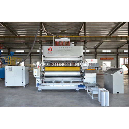 Tibuok-awtomatikong High-Speed ​​Stretch Film Machine