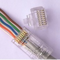 Connettori EZ CAT6 connettori EZ RJ45