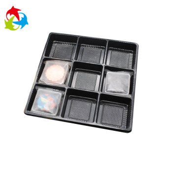 Food grade insert plastic cookie blister trays