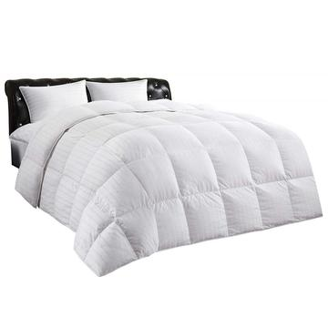 Luxury White Down Comforter 100% Cotton