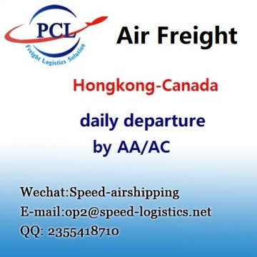 International air freight from Canada