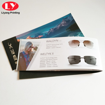 Book Print Service Custom Sunglass Booklet Printing Services