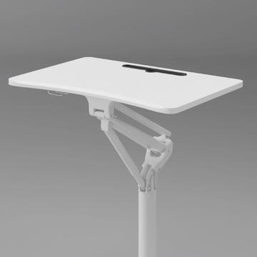 Aluminum Height adjustable bed table