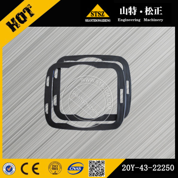 PC200-7 PC300-8 pc350-8 plate 20Y-43-22250