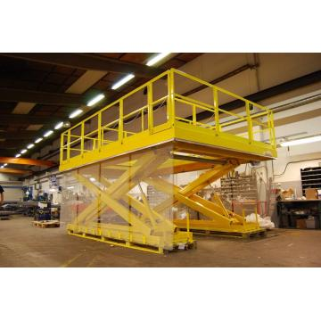 Lift platform inclined Hydraulic