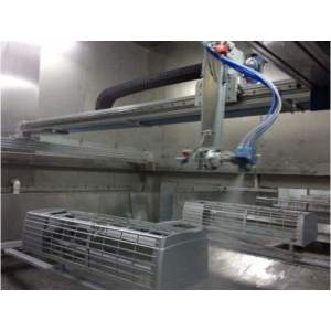 Reciprocator Automatic spraying Painting line for Plastic