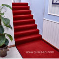 Entrance customized rib striped polyester floor door mat