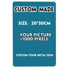 [SQ-DGLZ] Custom Metal Plaque Vintage Custom Metal Sign Wall Decor Tin Sign Home Decor Painting Plaques Art Poster