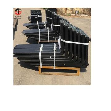 forging material lifting forks for heavy cranes