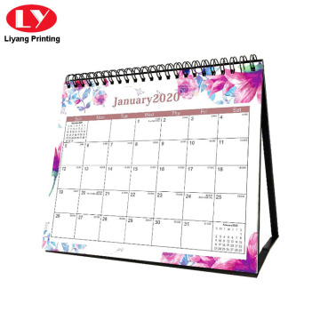 Custom Daily Desk Calendar 2021 Printable