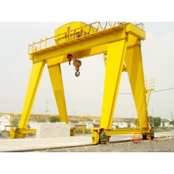 200/20t double girder gantry crane price with hook