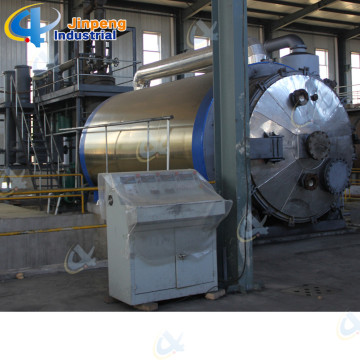Intermittent Operation Rubber Tire Recycling Machine