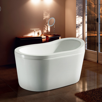 Household 1300MM Acrylic Small Freestanding Bathtub