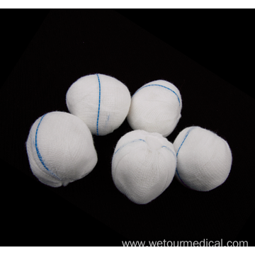 Absorbent 100% Cotton Medical Gauze Balls
