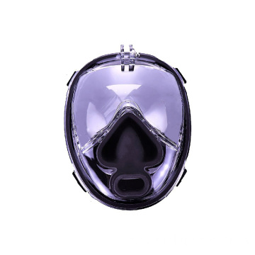 Custom made full face snorkel mask