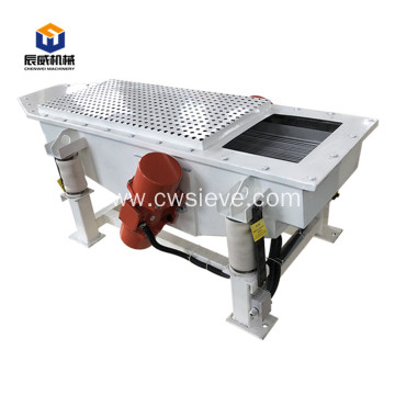 direct factory food stainless steel linear vibrating screen