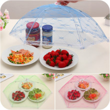 Kitchen Accessories Foldable Mesh Lace Food Cover Anti-fly Mosquito Food Cover Kitchen Tools Table Decoration Kitchen Gadgets