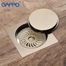 GAPPO Drains bathroom shower floor drain bath shower drain strainer anti-odor bathroom floor cover stopper
