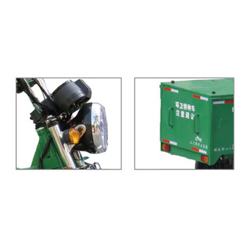 HS800DZH Electric Garbage Battery Tricycle for Cheap Price