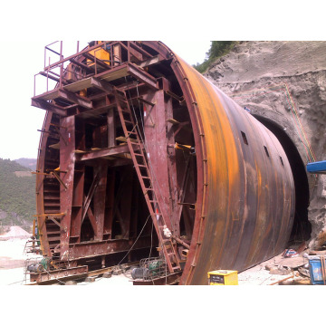 Hydraulic Railway Formwork Tunnel Trolley