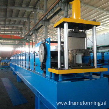 new tech k-style gutter roll forming  machine