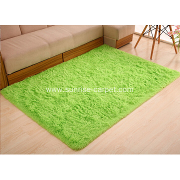 Polyester Silk Fur Carpet Mat