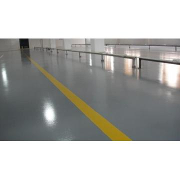 Two-component wear-resistant epoxy coating