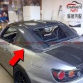 Honda Carbon fibre roof Car Hard top glass