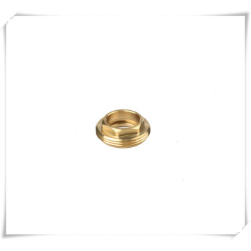 Brass Screwed Cover or Faucet Cartridge Nut