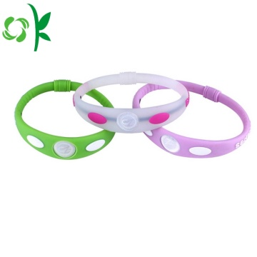 Fashion Multicolor Wristbands Custom Silicone Gel Bracelets