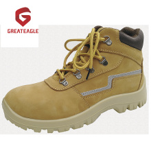 Steel Nubuck Leather Safety Shoes