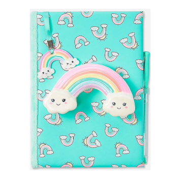 RAINBOW SQUISHY NOTEBOOK -0