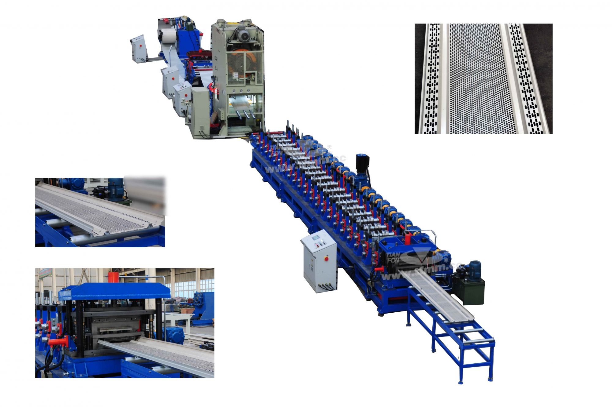 Soundproof Panel Roll Forming Line