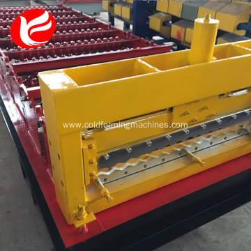 Iron color steel roof sheet corrugated rolling machine