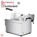 High quality industrial 17L capacity deep fryer machine with CE