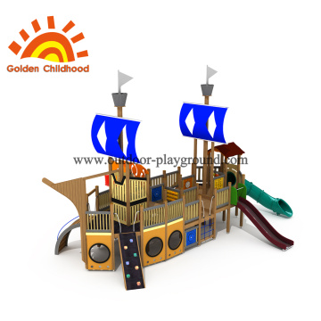 Ship Size Outdoor Playground Equipment For Children