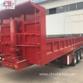 Hot Sale 3 Axles Hydraulic Tipping Semi Trailer