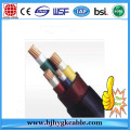 0.6/1kv copper conductor XLPE insulated PVC sheath