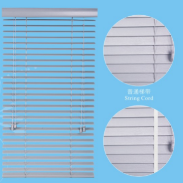 Plain 35mm Faux Wood Venetian Blinds
