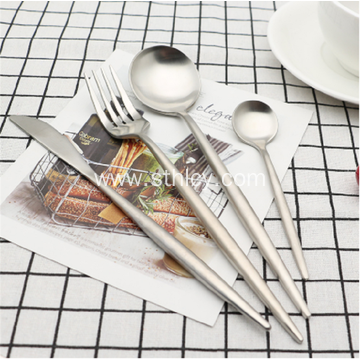 Hot Stainless Steel Brass Copper Handle Tableware