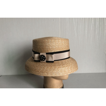 Wheat Braid Sun Hat--YJ66