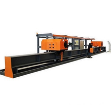 CNC double head steel bar bending center