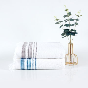 classic high grade satin hotel cotton bath towel
