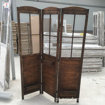 Europe and America shabby wooden Room Divider