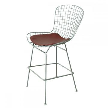 Modern classic Harry Bertoia counter stool replica
