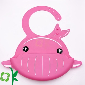 Baby Waterproof Safe Silicone Bibs