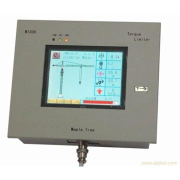 Tower crane monitor unit