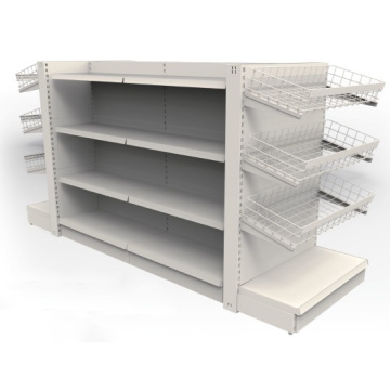 Double Sided Shelf for Supermarket