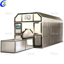 Stainless steel fuel or gas cremation machine